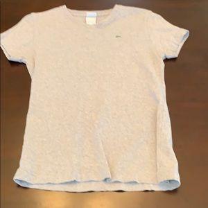 Lacoste grey size 44 shirt
